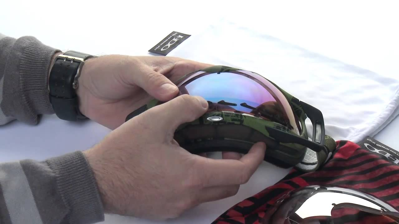 934e86695f Oakley Crowbar Goggle Lens Change Tutorial - YouTube