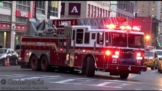 FDNY Ladder 4 (New Ferrara) + Battalion 9