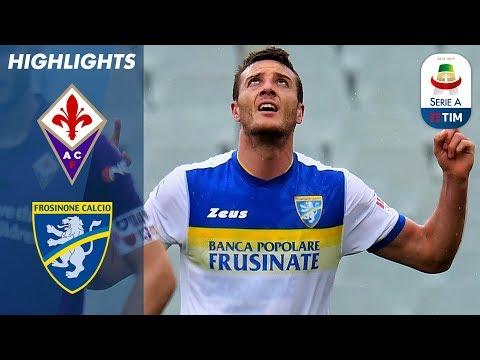 Fiorentina 0-1 Frosinone   Late Goal From Ciofani Earns Frosinone Win!   Serie A