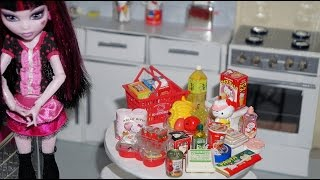 Re-Ment Hello Kitty Supermarket - miniature toys unboxing review