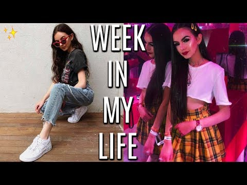 WEEK IN MY LIFE VLOG! | COLLEGE + MECCALAND!