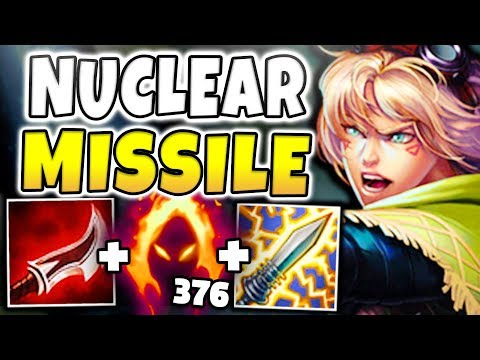 NUCLEAR MISSILE EZREAL MID! INSTANT KILL EVERYONE WITH Q (DUSKBLADE/DARK HARVEST) League of Legends