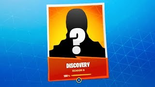 NEW SECRET DISCOVERY SKIN Info in Fortnite! (Fortnite Season 8 Free Mystery Skin)