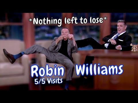 Robin Williams - Nothing Left To Lose! - 5/5 Appearances In Chronological Order [Mostly HD]
