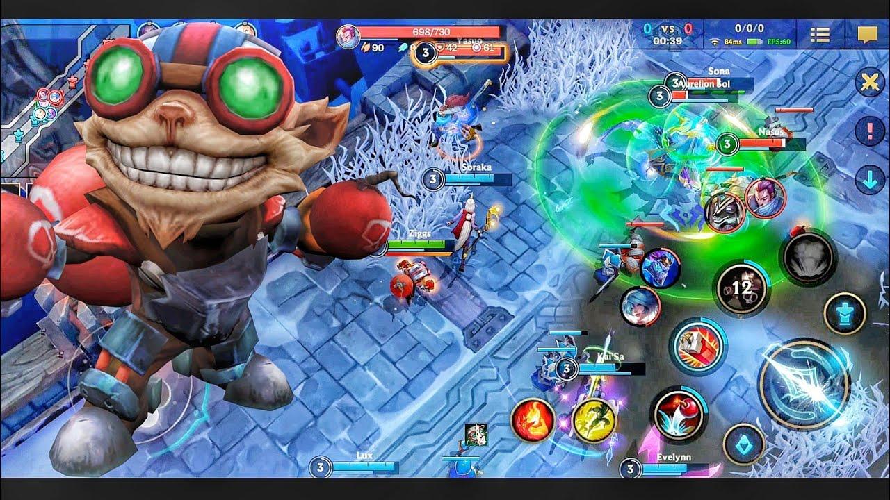 [League of Legends Wild Rift] Aram Mode - Oneplus 8T Max Graphics