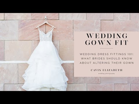 Wedding Dress Fittings 101: What Brides Should Know about Their Alterations