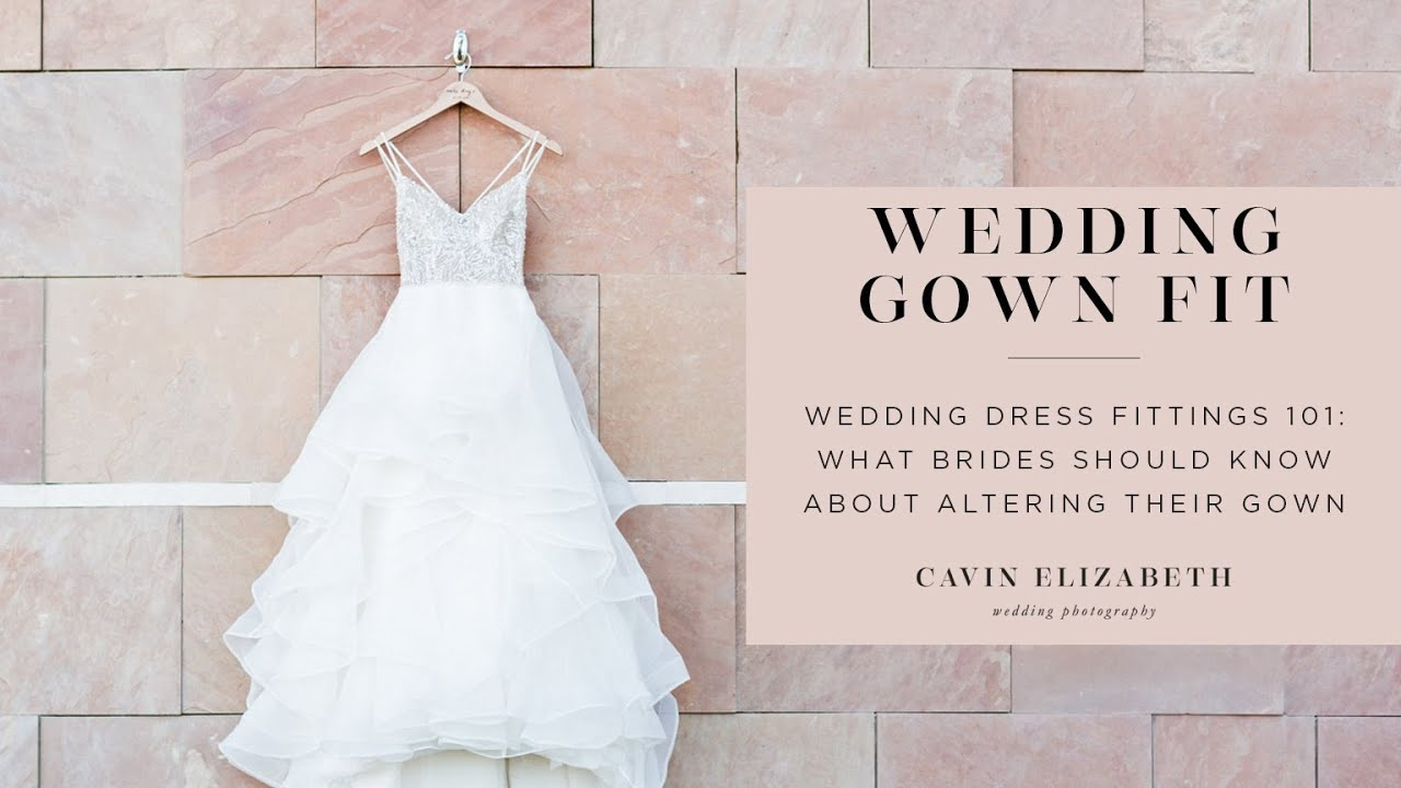 Wedding Dress Fittings 101 What Brides Should Know About Their