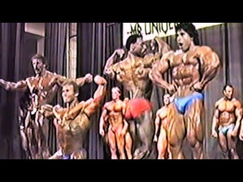 NABBA Universe 1985 - Pro Class - Ed Kawak/Brian Buchanan/Lance Dreher/Hubert Metz
