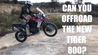 CAN YOU OFFROAD THE NEW TRIUMPH TIGER 800 XCA!?