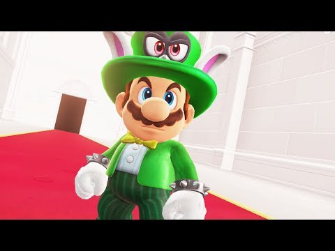 Bowsers Reaction to Mario's Topper Outfit - Super Mario Odyssey