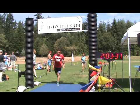 Whidbey Tri Finish 2016