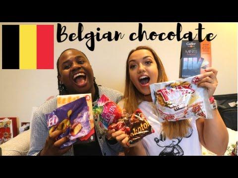 BRITS TRY BELGIAN CHOCOLATE! | Sofia Sakura