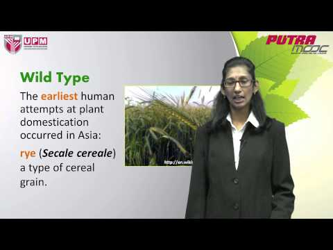 PutraMOOC | PRT2008M Topic 4 Genetic Resources in Agriculture (Part I)