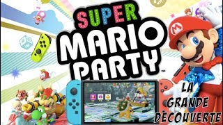 SUPER MARIO PARTY SWITCH : LA GRANDE DECOUVERTE ! Modes, Online, Jeux, Maniabilité, Personnages
