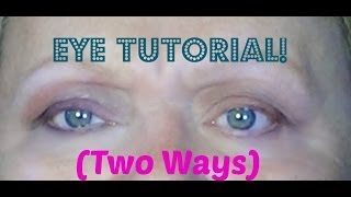 TUTORIAL: Favorite Eye Look Two Ways (Part 1) Thumbnail