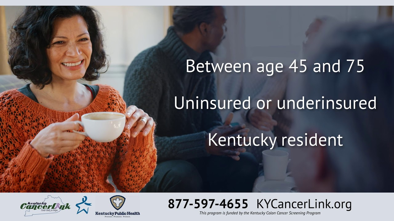 Kcl Commercial For Kentucky Colon Cancer Screening Program Youtube