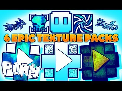 6 EPIC!!!! ❃ TEXTURE PACKS Para GEOMETRY DASH 2.11 [ ANDROID / STEAM (PC) ] #5