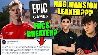 Clix MOVES IN to NRG House! MANSION LEAKED? MrSavage EXPOSES FNCS Cheaters? Pros Mad at Epic..