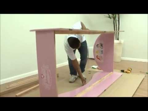 3d8608ca63 Video de montagem Cama princesas Disney Pura Magia - YouTube