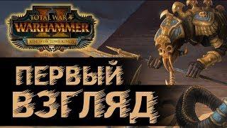 Цари Гробниц первый взгляд! Обзор, новое дополнение в Total War Warhammer 2 - Rise of the Tomb Kings