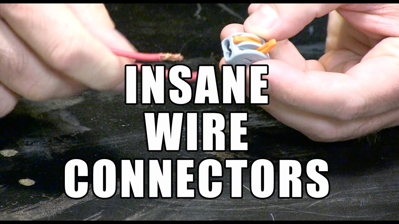 Wago Wire Connectors Best Connector Ever Youtube Blank 3 Way Wiring Diagram