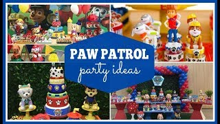 Awesome Paw Patrol Party Ideas & Supplies!