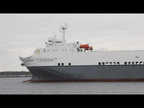 The Victorine, Ro Ro Ship arriving in Dublin 30th June 2020