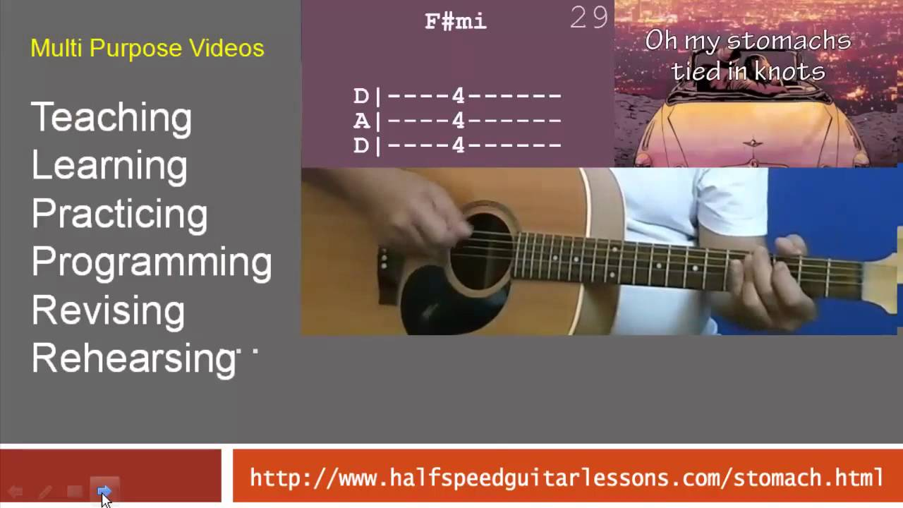 How to play stomach tied in knots on acoustic guitar overview how to play stomach tied in knots on acoustic guitar overview hexwebz Images