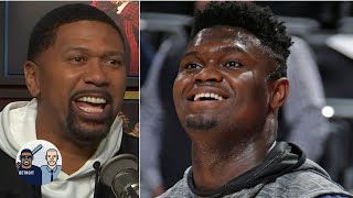 Jalen Rose gets hyped for Zion Williamson's NBA debut | Jalen & Jacoby