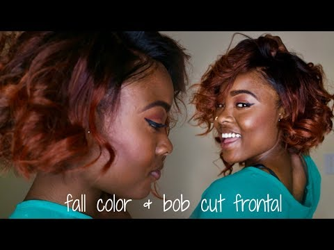 Auburn Fall/Autumn Color & Bob Cut!!! |Evanda Elite Hair