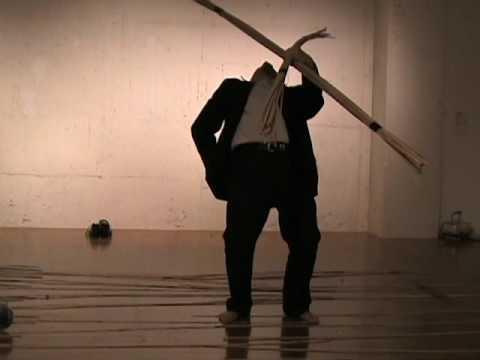 2005 Boris Nieslony &Jurgen  Fritze, @BankART , Yokohama, Art of Begegnung, Japan