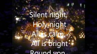 Silent Night(Instrumental + Lyrics in French/English/Italian)