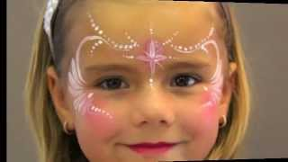 Repeat youtube video Princess FACE PAINTING - MAQUILLAGE POUR ENFANTS