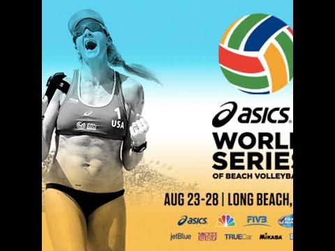 2016 ASICS WSOBV Long Beach  Womens Final Ross & Walsh USA (1) vs Fernandez & Baquerizo ESP