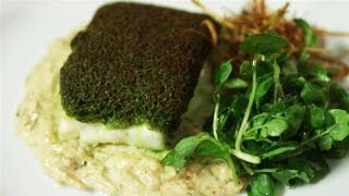How To Make Herb Encrusted Cod With Creamed Fennel And Crispy Leeks: Simply Gourmet - S01e8/8