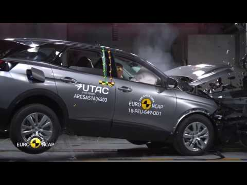 Crash Test of Peugeot 3008 (Euro NCAP)