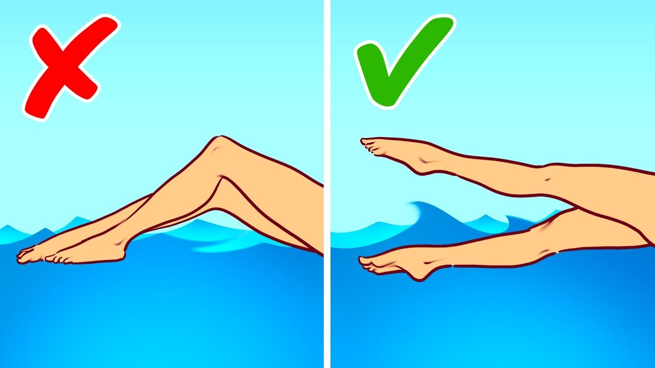 Olimpik Yüzücülere Göre Boğulmaktan Kurtulmanın 2 Yolu