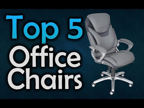 Best Office Chairs – The Top 5 Office Chairs in 2017!