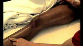 learn how to massage part 3 front leg and foot thai massage thai oil massage