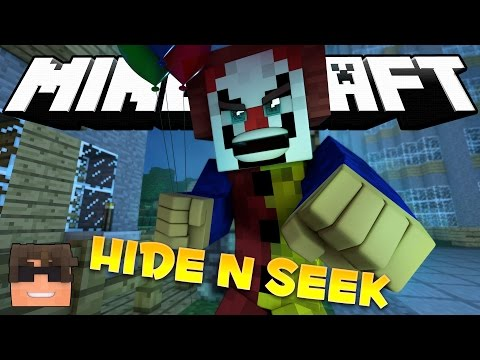 Minecraft IT Hide and Seek! PENNYWISE THE CLOWN! (Minecraft IT Minigame) - Видео из Майнкрафт (Minecraft)