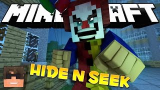 minecraft it hide and seek pennywise the clown minecraft it minigame