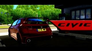City Car Driving 1.2.5: Honda Civic Type R