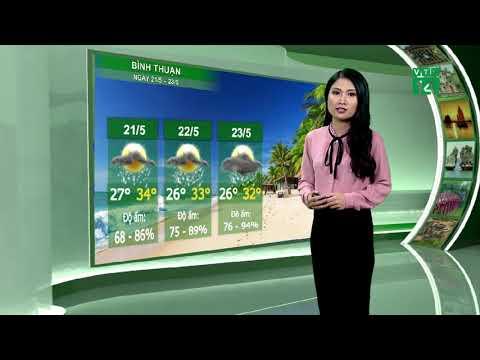 Thời tiết du lịch 20/05/2019: Mưa dông gia tăng nhẹ ở Tây Nguyên | VTC14