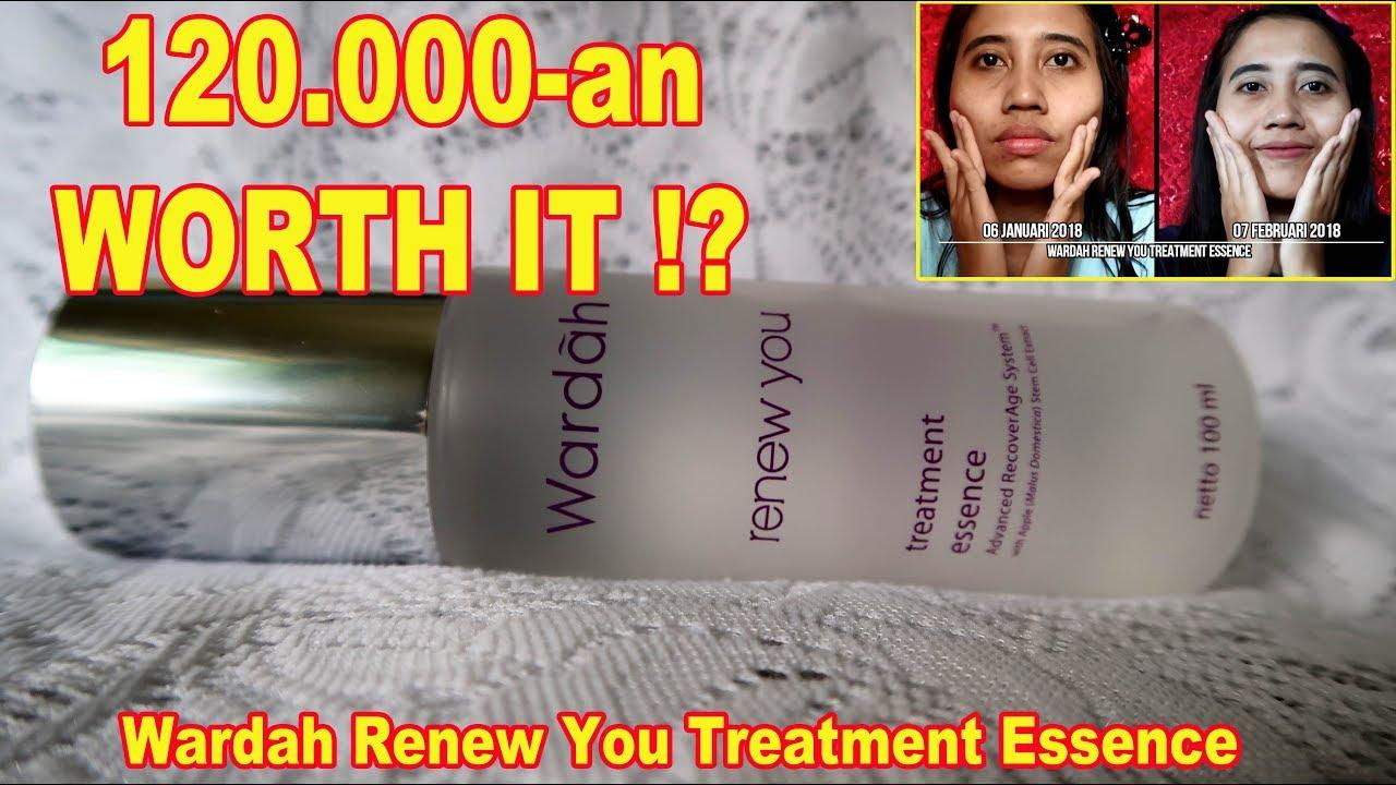 Review Jujur Wardah Renew You Treatment Essence Wajah Kenyal Anti Aging Night Cream 30 G Halus Maria Soelisty