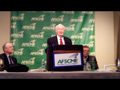 AFSCME Pres. McEntee Honoring Retiring AFL-CIO Pres. Sweeney