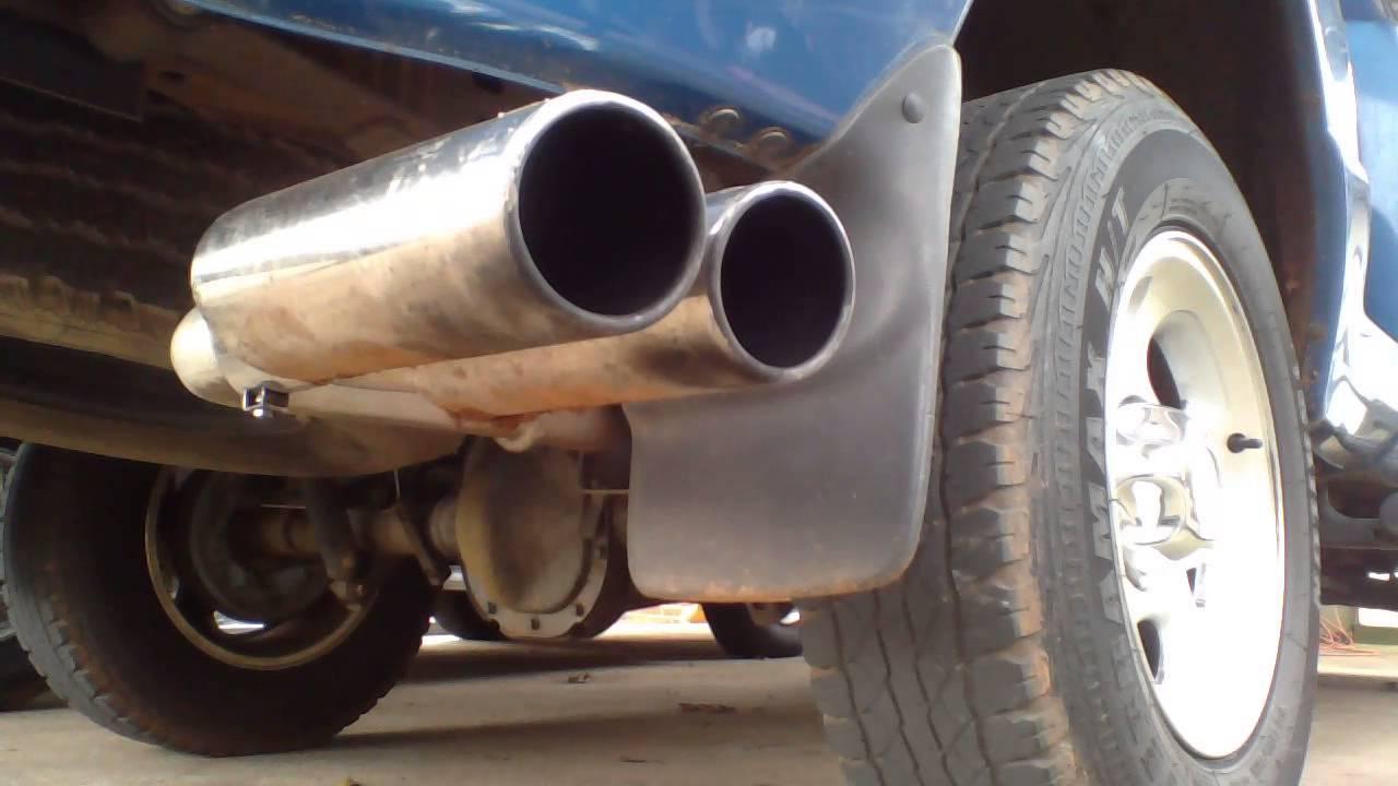 2001 ford ranger edge 4 0l v6 flowmaster super 44 w dc sport exhaust tip youtube