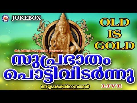 സുപ്രഭാതംപൊട്ടിവിടർന്നു | SuprabhathamPottividarnnu | Hindu Devotional Songs Malayalam |AyyappaSongs