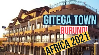 GITEGA Town Drive around GITEGA Town in Night Burundi Africa | Gitega Political Capital of Burundi