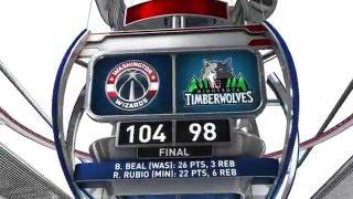 Washington Wizards vs Minnesota Timberwolves - March 2, 2016