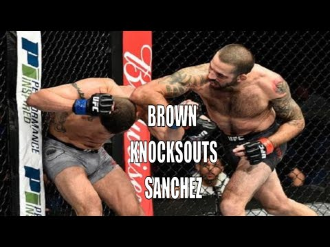 matt-brown-knocks-out-diego-sanchez-with-an-elbow